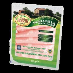 Mortadella Bologna Igp  Casa Bonelli 120g