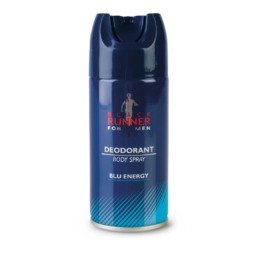 Deodorante Uomo Blue Energy Black Runner 150 ml