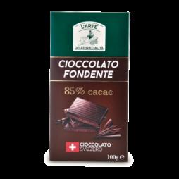 Cioccolato Svizzero Fondente L'Arte Della Specialità  100gr