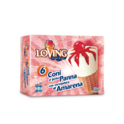 Coni Variegati Amarena Loving 450gr
