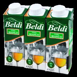 Vino Bianco Brik Beldì 3x250ml