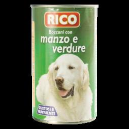 Bocconcini Cane Con MAnzo e Verdure Rico 1250gr
