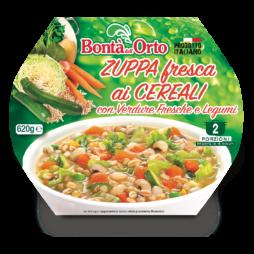 Zuppa Ai Cereali Con Verdure Fresche Bonta Dell'Orto 620gr