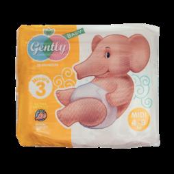 Pannolini Midi Gently Baby 28pz
