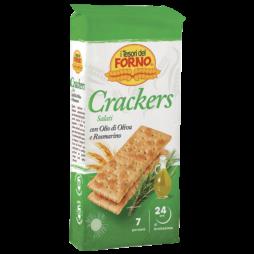 Crackers Olio E Rosmarino  Tesori Del Forno 250g