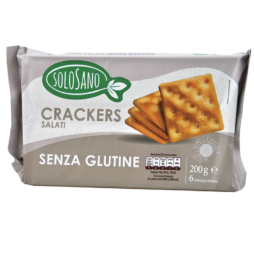 Crackers Senza Glutine  Solosano 200gr