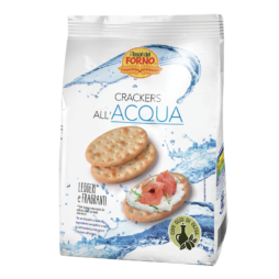 Crackers All'Acqua I Tesori Del Forno 250 g