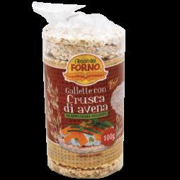 Gallette Con Crusca Di Avena I Tesori Del Forno 100 g