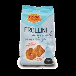 Frollini Ai 5 Cereali I Tesori Del Forno 350 g