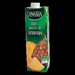 100% Succo Di Ananas Canaria 1L