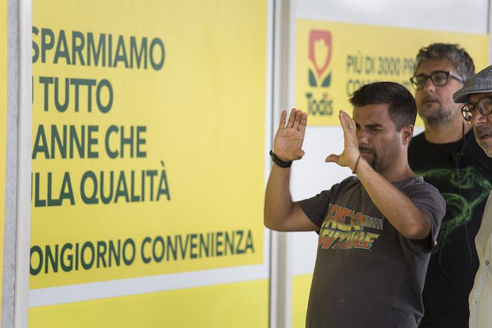 Copperman: Il punto vendita Todis di Spoleto diventa set del film con Luca Argentero