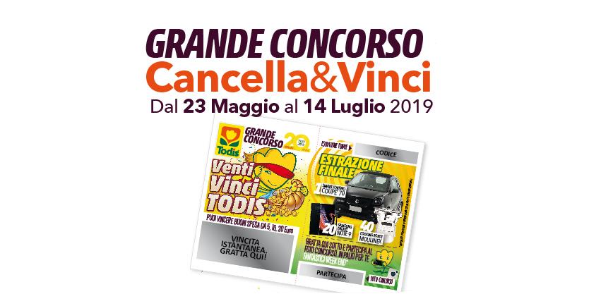 VENTI VINCI TODIS | COME PARTECIPARE AL CONCORSO