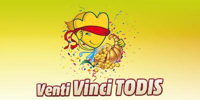 Venti Vinci Todis | È terminato il primo periodo del concorso per il ventennale dell'azienda