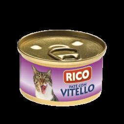 Patè Per Gatti -Vitello -Sogliola -Pollo Rico 85g