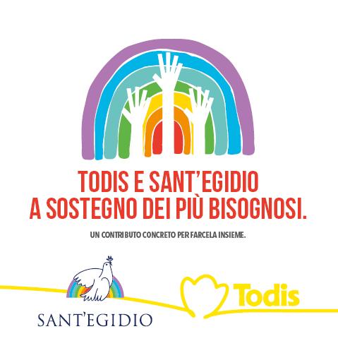 Todis e Sant'Egidio, a sostegno dei più bisognosi