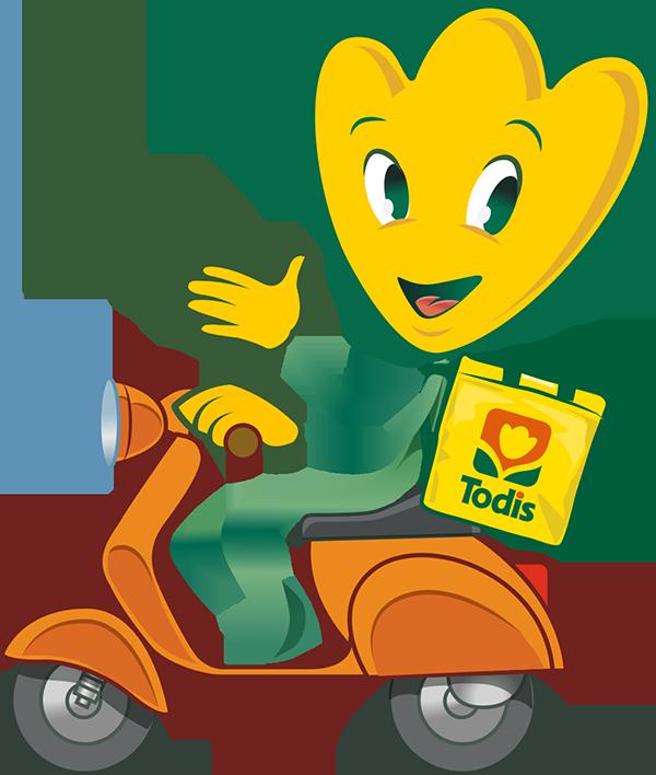 Clivietta in scooter