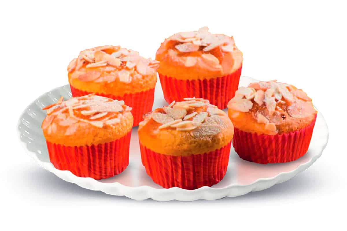 come preparare i muffin di albicocche e mandorle