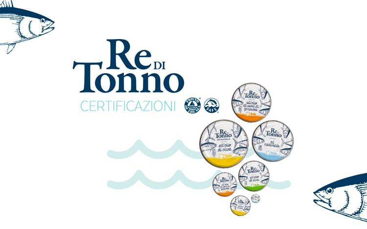 Todis la sua linea Re di Tonno e le certificazioni