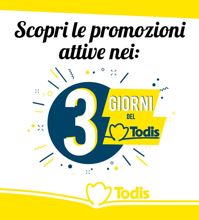 Volantino - 3 giorni del Todis