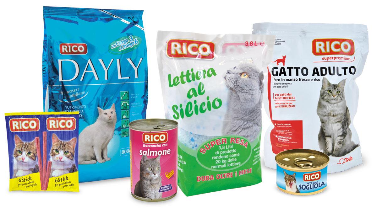 Rico - Linea gatto