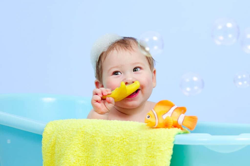 igiene per bambini