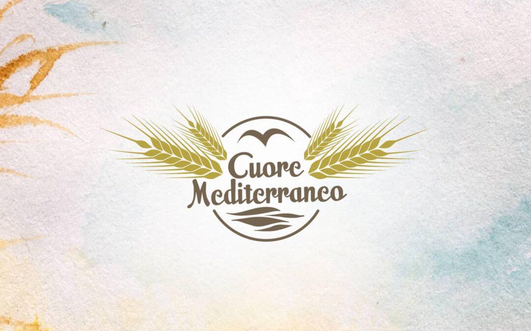 Pasta cuore mediterraneo linea bianca